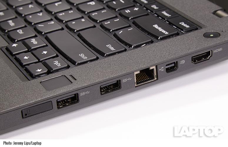 Lenovo ThinkPad T460p ports